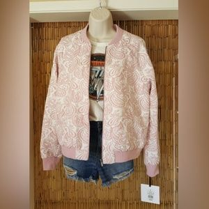 NWT Victoria Beckham for Target bomber jacket